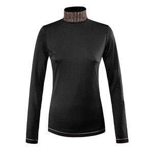 EQUILINE TURTLE NECK GILA WITH COPPER STUDS