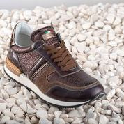 DENIRO CUSTOM SNEAKERS BROWN