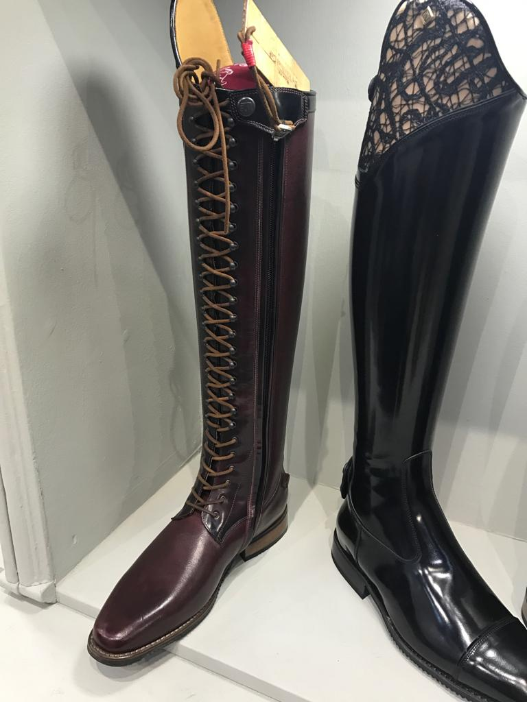Deniro Boots Dressage With Laces