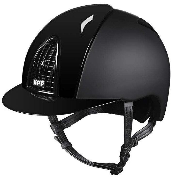 KEP CROMO TEXTILE WITH POLISH GRID, INSERTS & VISOR