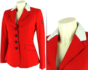 Equiline Women Shortcoat Gait Red