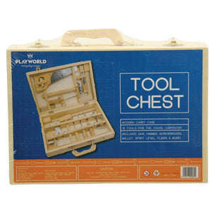 TOOL SET 16  PCE REAL WOOD