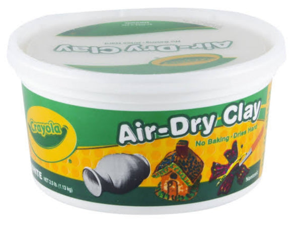 CRAYOLA AIR DRY CLAY WHITE