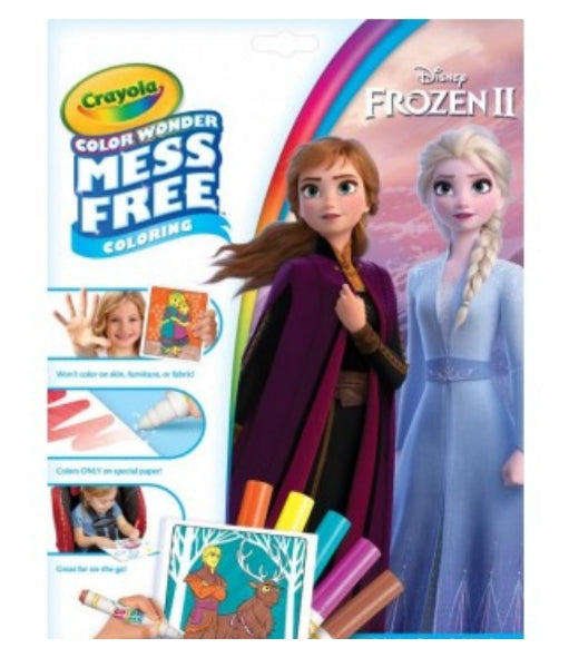 CRAYOLA COLOR WONDER FOLDALOPE FROZEN