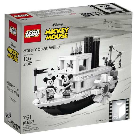 LEGO 21317 LTD DIST STEAMBOAT WILLIE