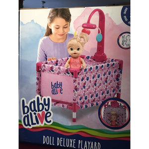 BA BABY ALIVE DOLL DELUXE PLAYSET