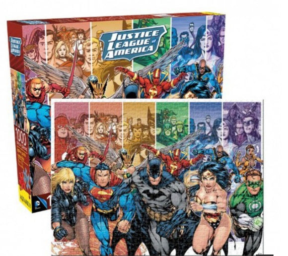 PUZZLE 1000PC DC COMICS JUSTICE LEAGUE