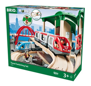 BRIO TRAVEL SWITCHING SET 42 PC