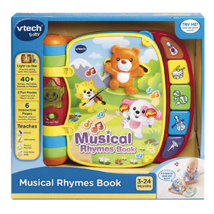 VTECH MUSICAL ACTIVITY BOOK