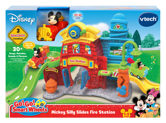 VTECH  MICKEY SILLY SLIDES FIRE STATION