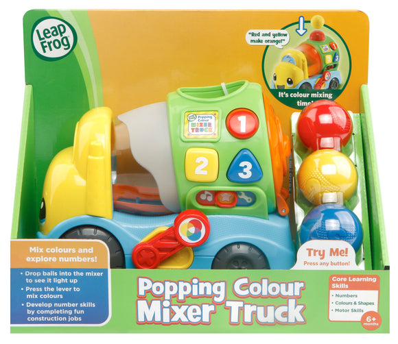 L/F POPPING COLOR MIXER TRUCK