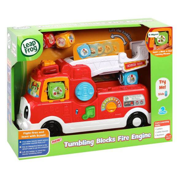 L/F TUMBLING BLOCKS FIRE ENGINE