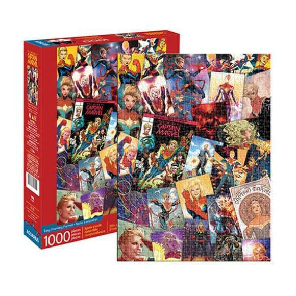 PUZZLE 1000PC CAPTAIN MARVEL COLLAGE