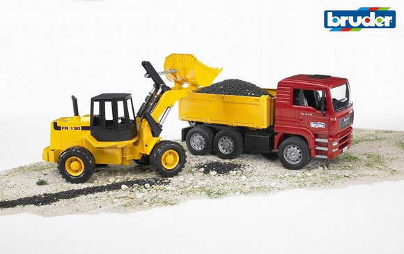 BRUDER 1:16 CONSTRUCTION TRUCK W FRONT L