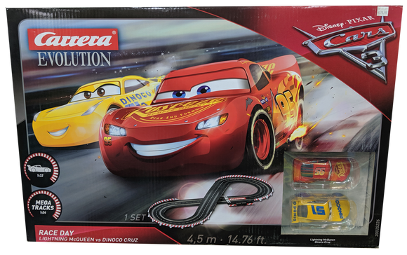 CARRERA EVO DISNEY PIXAR CARS 3 SLOT CAR