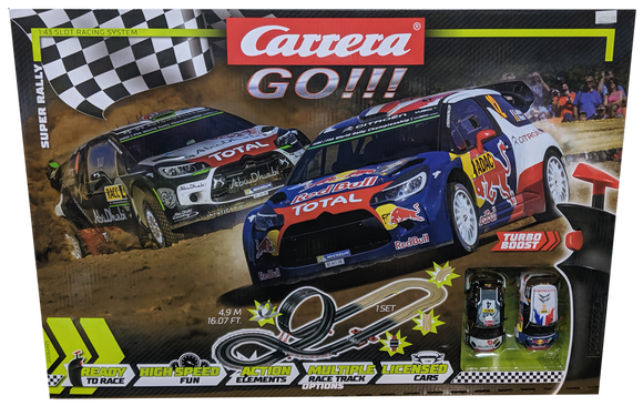 CARRERA GO WRC SUPER RALLY SET