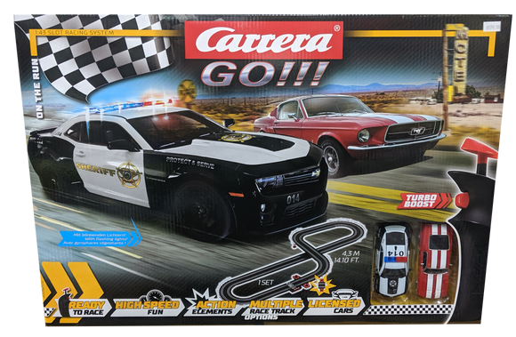 CARRERA GO ON THE RUN SLOT SET