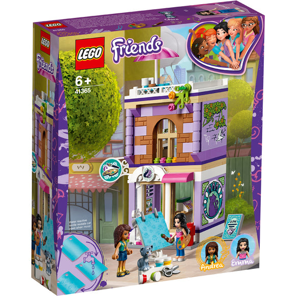 LEGO 41365 FRIENDS EMMA ART STUDIO