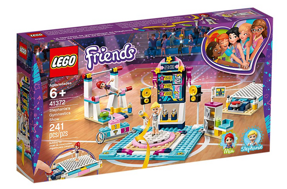 LEGO 41372 FRIENDS STEPH GYMNASTICS SHOW