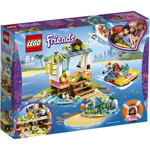 LEGO 41376 FRIENDS TURTLES RESCUE MISSIO