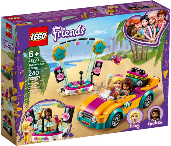 LEGO 41390 FRIENDS ANDREAS CAR & STAGE