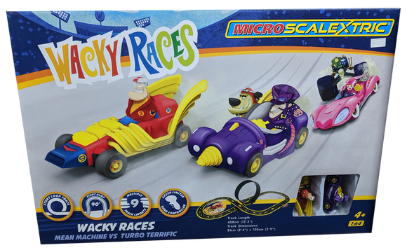 SCALEXTRIC MICRO WACKY RACERS SET