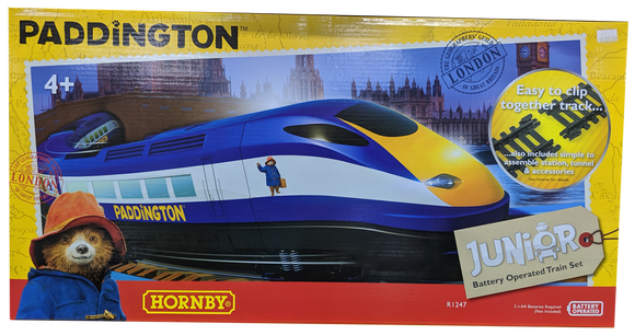 HORNBY JUNIOR PADDINGTON BEAR SET