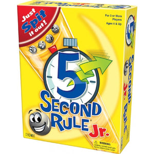 GAME 5 SECOND RULE JNR