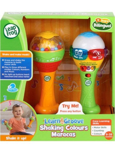 L/F LEARN & GROOVE SHAKIN COLORS MARACAS