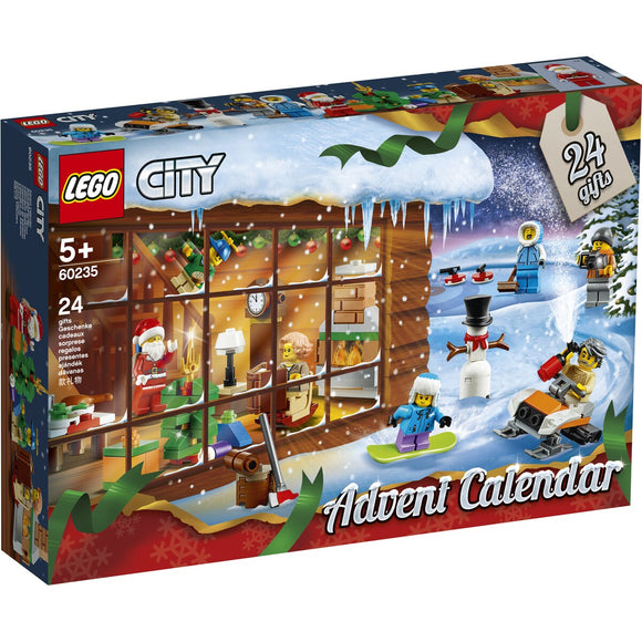 LEGO 60235 ADVENT CALENDAR CITY