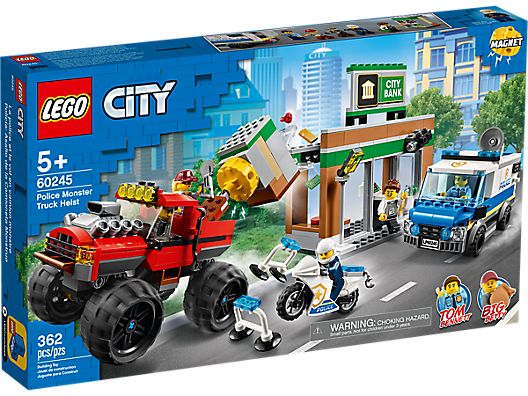 LEGO 60245 CITY POLICE MONSTER TRUCK