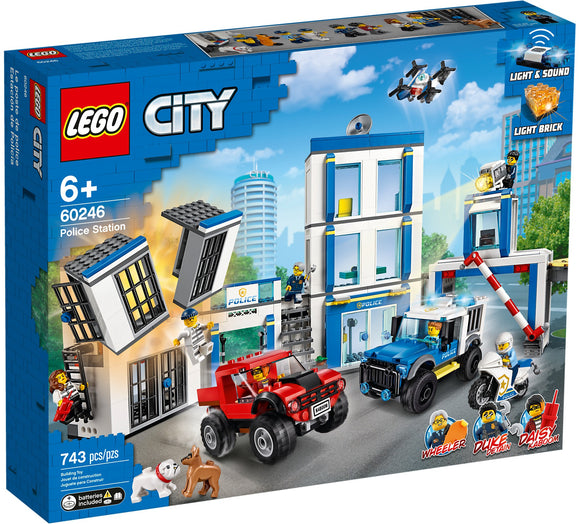 LEGO 60246 CITY POLICE STATION