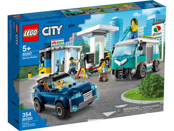 LEGO 60257 CITY SERVICE STATION