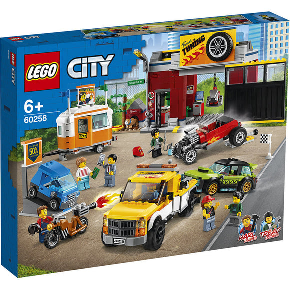 LEGO 60258 CITY TURNING WORKSHOP