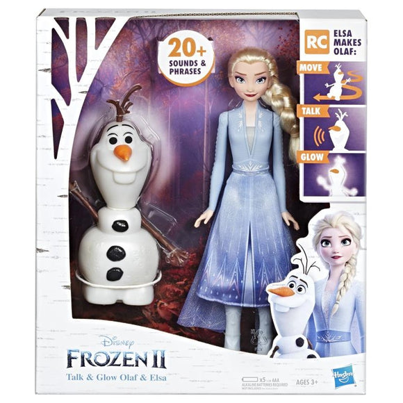 FROZEN 2 OLAF AND ELSA