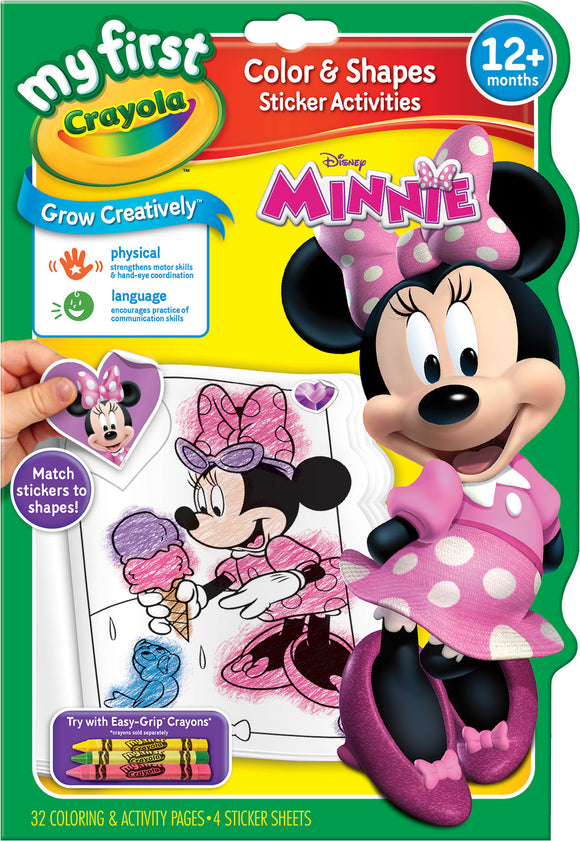 CRAYOLA BOOK COLOR & ACTIVITY MINNIE MFC
