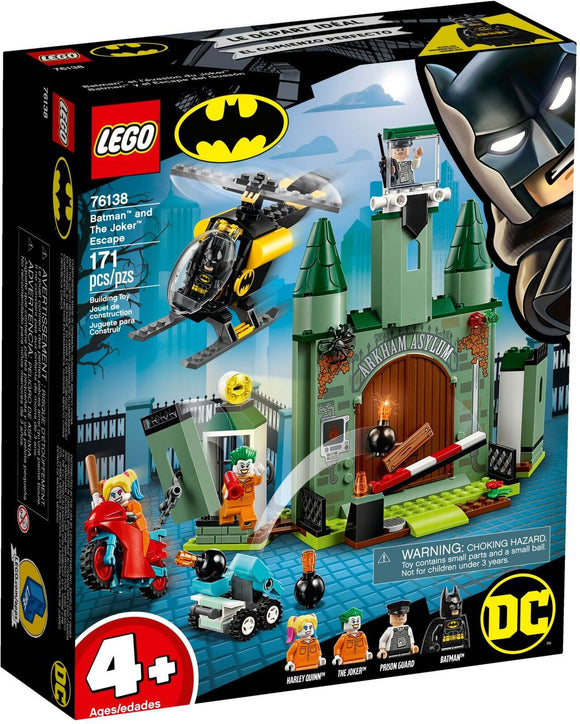 LEGO 76138 S/H BATMAN THE JOKER ESCAPE
