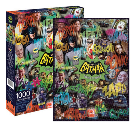 PUZZLE 1000PC BATMAN TV COLLAGE