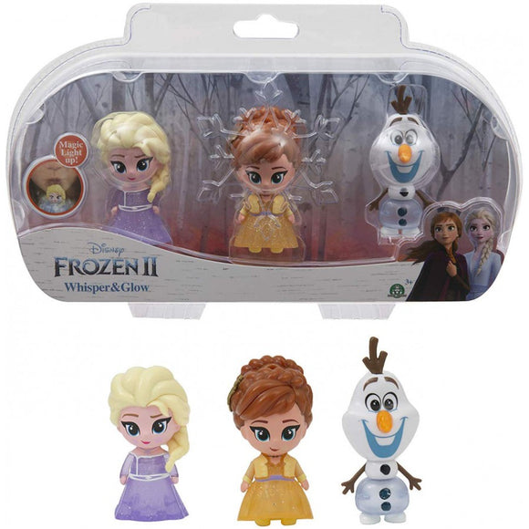 FROZEN 2 MINI GLOW DOLL 3PK