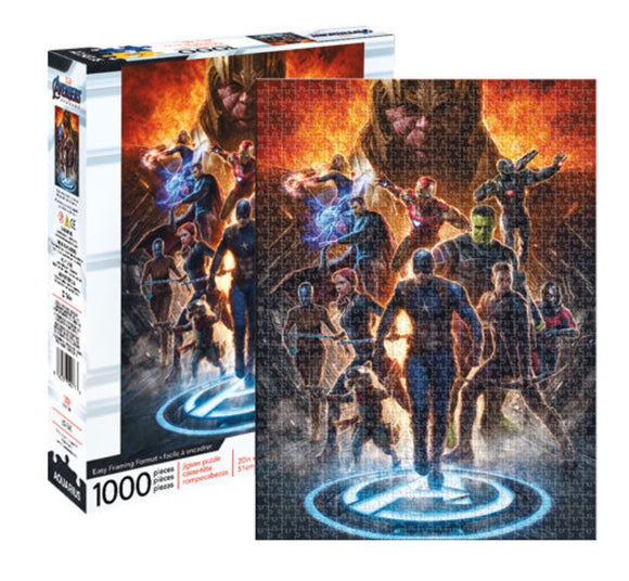 PUZZLE 1000PC AVENGERS ENDGAME COLLAGE