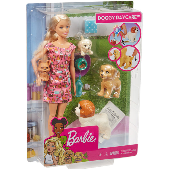 BRB DOGGY DAYCARE DOLL & PETS
