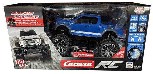 CARRERA R/C 1:14 FORD F-150 RAPTOR BLUE