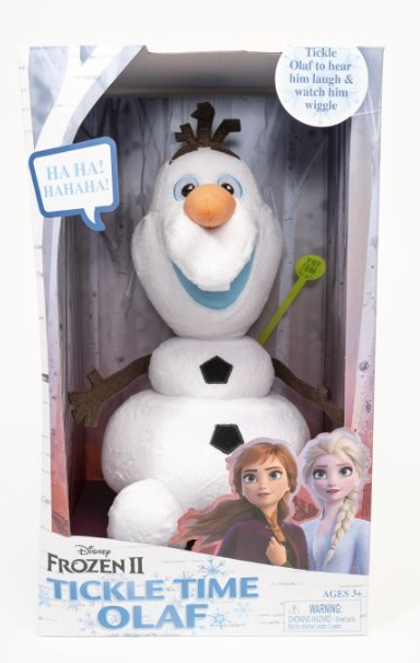 FROZEN 2 TICKLE TIME OLAF