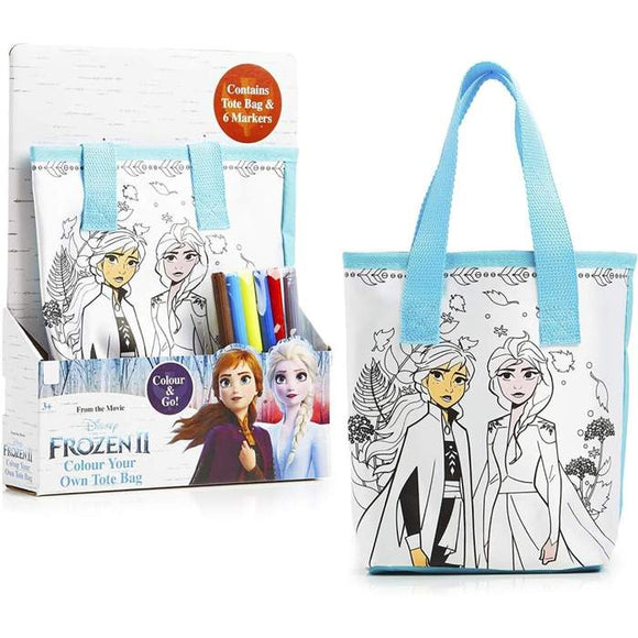 FROZEN 2 COLOR YOUR OWN TOTE BAG