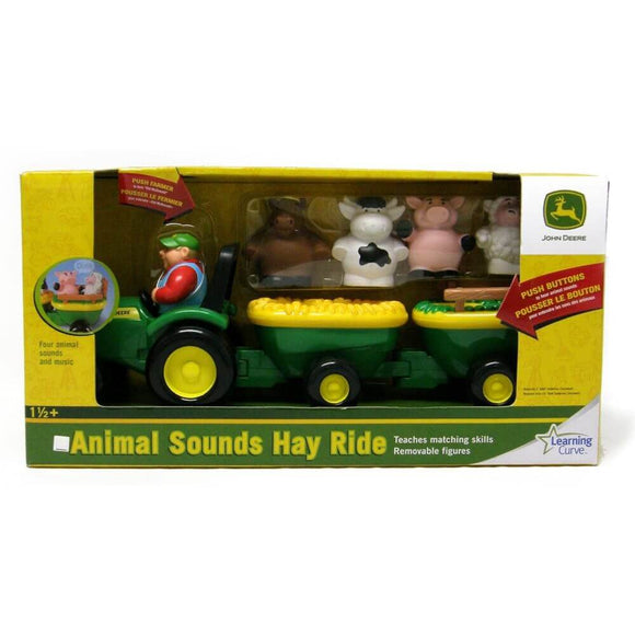 JD ANIMAL SOUNDS HAYRIDE