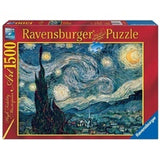 PUZZLE 1500PC VAN GOGH STARRY NIGHT