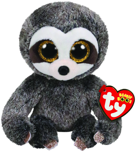 BEANIE BOOS REG DANGLER GREY SLOTH