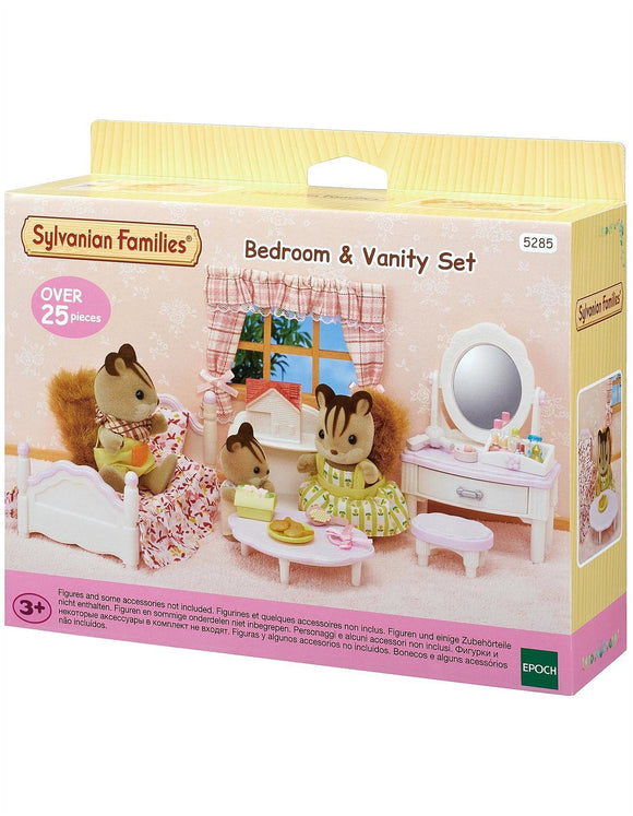 SYL/F BEDROOM & VANITY SET