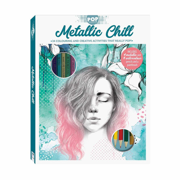 BOOK POP COLOR METALLIC CHILL KIT