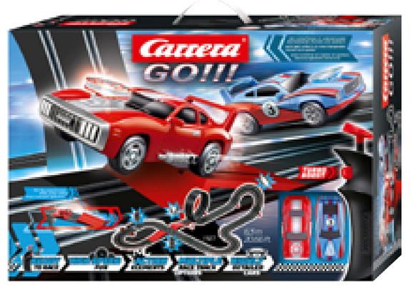 CARRERA GO SUPERCHARGER SLOT SET